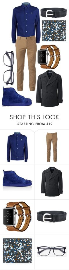 """""""Gabriel Fairfield"""" by ashlynknight ❤ liked on Polyvore featuring Paul Smith, Urban Pipeline, Christian Louboutin, Lands' End, Fauve, Orciani, Maison Margiela, EyeBuyDirect.com, men's fashion and menswear"""