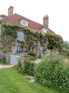 Charleston Farmhouse, Firle, East Sussex. Bloomsbury hub, home of Vanessa Bell and Duncan Grant