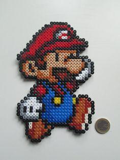 Figure Mario Bros decorative by FRIKIREGALO on Etsy