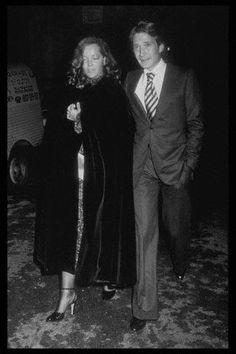 ROMY SCHNEIDER AND DANIEL BIASINI, PREMIERE August 18, 1975