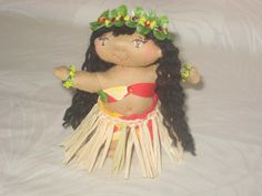 Magical Hawaiian Menehune Dolls: Pua 'Olena, Dream Filled Beauty