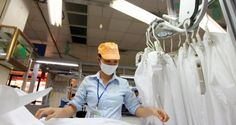 FDI vào dệt may giảm tốc