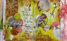 Una mujer con un cutter: Art Journal y Handwriting