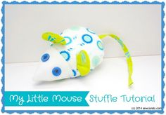 Sew Can Do: FREE PATTERN: My Little Mouse Stuffed Toy
