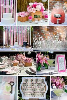 Bridal Shower theme!! FAVORITE! @Mandee Hillman VanOrden Richardson-Pro  I'm likin this.