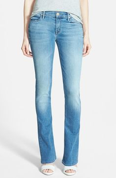 MOTHER 'Runaway' Bootcut Jeans (Wild and Sweet) from Nordstrom