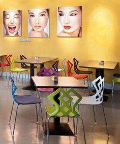 Galiane, meubles et mobilier design : chaises, fauteuils, tabourets de bar, tables http://www.mobilier-hotel-bar-restaurant.com/mobilier-restaurant-ziggy-zahira-p346.html