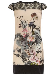 Blush blossom lace dress - Going Out Dresses - Dresses - Dorothy Perkins United States