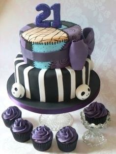 Nightmare Cake, wish I'd had this for my 21st