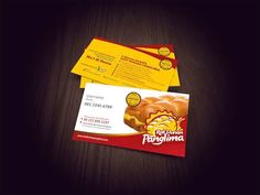 Roti durian panglima business card design