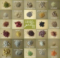 New to Gluten-Free? - Fork and Beans New to gluten-free? Take a look at some of the grains and beans that are safe to eat! Gluten Free Grains, Gluten Free Diet, Foods With Gluten, Gluten Free Cooking, Dairy Free Recipes, Gf Recipes, Vegetarian Recipes, Gluten Free Kitchen, Gluten Free Living