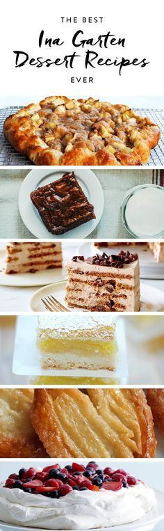 The Best Ina Garten Dessert Recipes Ever via @PureWoW @ gosh, I Luv INA ! killer brownies!