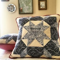 Pillow featuring Bengal fabric by @kts87