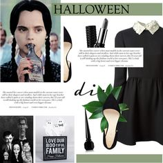 DIY Halloween Costume by antemore-765 on Polyvore featuring Valentino, Nine West, Kat Von D and Christian Louboutin