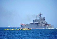 """O agravamento da crise síria e a perspectiva bastante real de início de uma guerra exigem da Rússia uma reação atempada aos acontecimentos, e a presença de navios de guerra significa, neste caso, mais do que simplesmente """"mostrar a bandeira""""."""