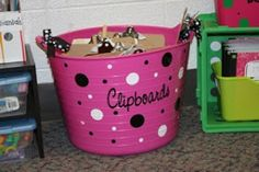 Clutter-Free Classroom: Clipboards in the Classroom