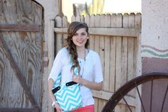 Trendy Canvas Chevron Purse by Justgetpampered on Etsy, $35.00