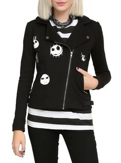 Pin for Later: The Internet Is Freaking Out Over This New Disney Halloween Collection  Moto Jacket (£36)