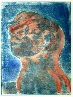 "Saatchi Art Artist Fernando Guibert; Printmaking, ""Narcissus"" #art"