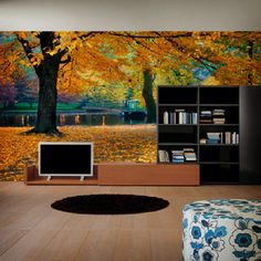 landscape wall murals nature related