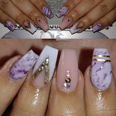Follow my Lash Lady @_styledbynina #nails #nail #fashion #style #marblenails #beauty #beautiful #instagood #pretty #girl #girls #stylish #sparkles #styles #gliter #nailart #art #opi #photooftheday #essie #notpolish #preto #branco #rosa #love #shiny #polish #nailpolish #nailswag