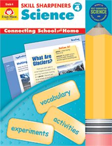 Science activities and experiments by Evan-Moor : Build your child's understanding of physical, life, and earth science with this full-color activity book! Engaging activities and hands-on projects will motivate your fourth grader to learn science concepts that are based on the most current science standards.