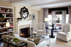 simple elegant living room ▇  #Home #Design #Decor  via - Christina Khandan  on IrvineHomeBlog - Irvine, California ༺ ℭƘ ༻