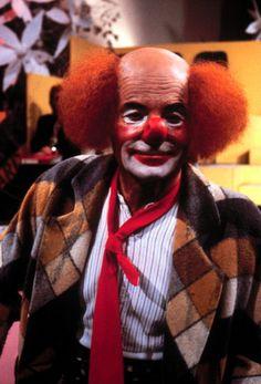 Harry Valerien als Clown Verkleidung Karneval Fasching Perücke