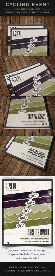 Cycling Event Poster | Flyer - Sports Events