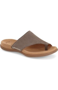 Gabor Toe Loop Sandal (Women) available at #Nordstrom
