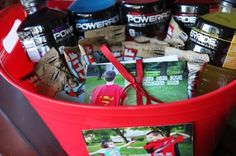 Ka-Pow! Father's Day Gift baskets that will give your dad super powers.
