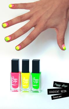 Gradient neon