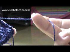 Tricô - Touca Fofura (0 à 3 meses) - Parte 01/02 - YouTube