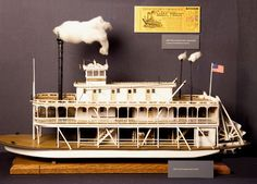 Details About Usa Mississippi Steam Paddle Boat 3d Paper