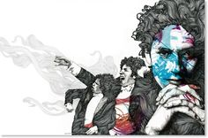 Gabriel Moreno, art, illustration,