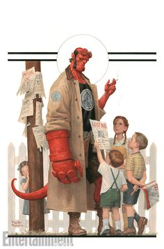 See the exclusive cover reveal for Mignolaverse's Hellboy & The B.P.R.D. | EW.com