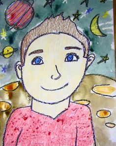 art lessons for kids self portraits | The Primary Sea: portraits