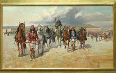 Fresh Horses by Carl Hantman kp