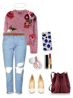 """""""Untitled #503"""" by mikeysfaveslice on Polyvore featuring Dolce&Gabbana, Topshop, Christian Louboutin, Armani Collezioni, Chanel, Sophie Hulme, Anne Sisteron and Sonix"""