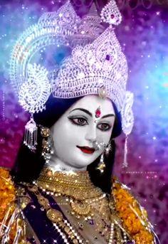 Durga Goddess, Hindu Art, Captain Hat, Indian Art