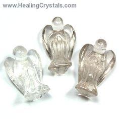 Angels - Clear Quartz Angel- Clear Quartz - Healing Crystals