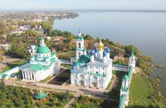 Spaso-Yakovlevsky monastery - located on the outskirts of Rostov, on the shore of Lake Nero - Russia