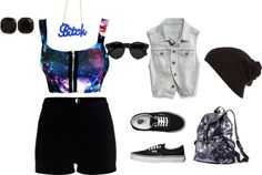 """Out of This World"" by dominicaworth on Polyvore"