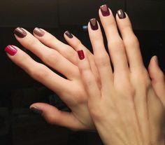 Shellac nails #semilac nail polish