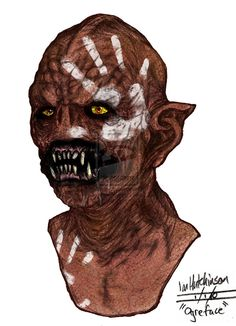 Uruk hai from Lord of the Rings