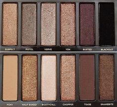 The two eye shadow pallets I NEED.