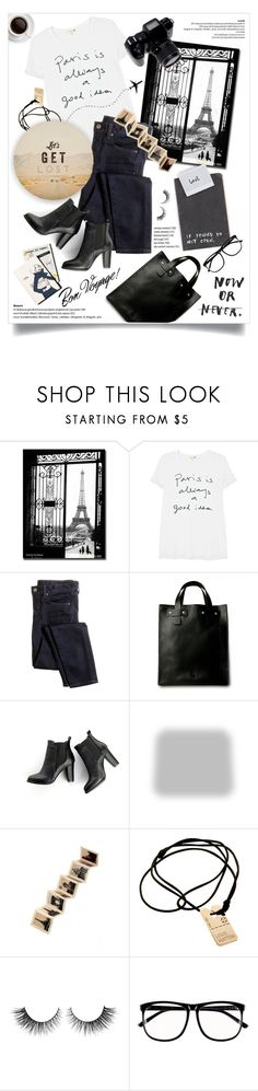 """""""get lost."""" by linds-rae ❤ liked on Polyvore featuring Trademark Fine Art, Sundry, J.Crew, SWEET MANGO, Shabby Chic, Rock 'N Rose, Louis Vuitton, Rimini, H&M and GET LOST"""