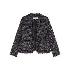 Buy Gerard Darel Tartan Jacket, Navy Blue Online at johnlewis.com