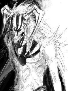 Kurosaki Ichigo, this is a really cool drawing Bleach Art, Bleach Anime, Bleach Characters, Manga Characters, Cute Anime Pics, I Love Anime, Anime Nerd, Anime Manga, Ichigo Hollow Mask