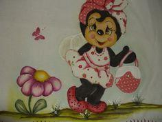 riso pintura em tecido abelhinha joaninha natal - Pesquisa Google